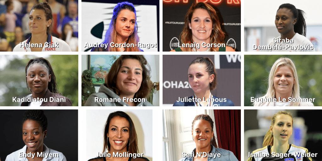 Professionnalisation du sport féminin : la FNASS réunit douze sportives en activité